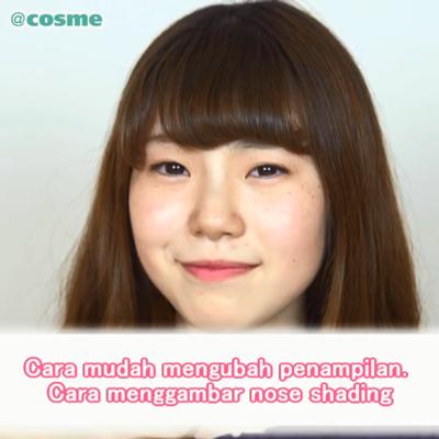 Cara mudah mengubah penampilan. Cara menggambar nose shading