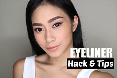 6 Eyeliner Hacks untuk Menggambar Eyeliner Rapi tanpa Ribet