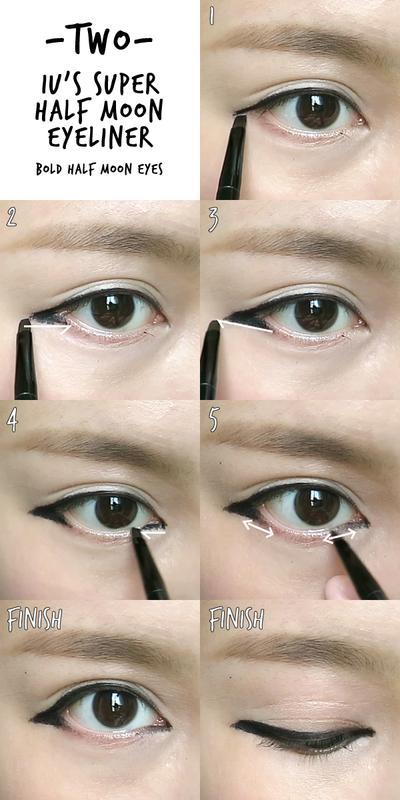 Berbagai Gaya Eyeliner ala Artis Korea yang Mudah untuk Dibuat