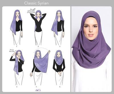Tutorial Hijab Stylish dan Cantik dengan Pashmina untuk Penampilan Sehari-hari (Part 2)