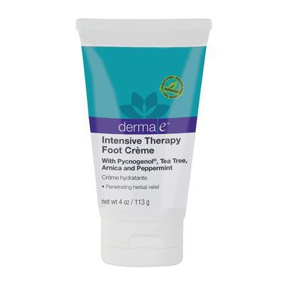 1. Derma E Intensive Therapy Foot Crème