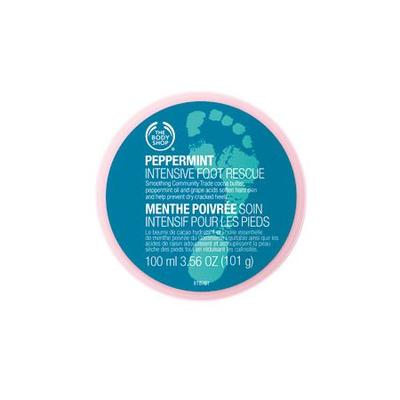 5. The Body Shop Peppermint Intensive Foot Rescue