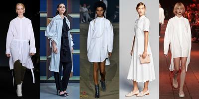 White Shirt Dresses