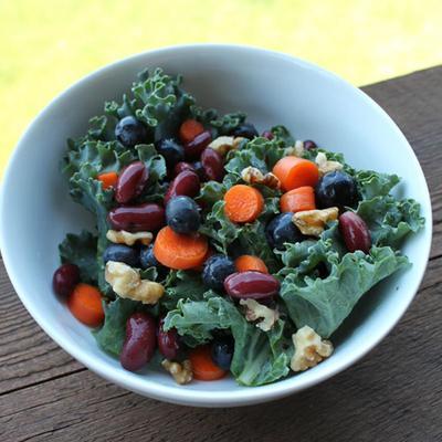 1. Kale Carotene Salad