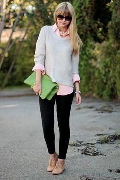 6. Kemeja dan Sweater