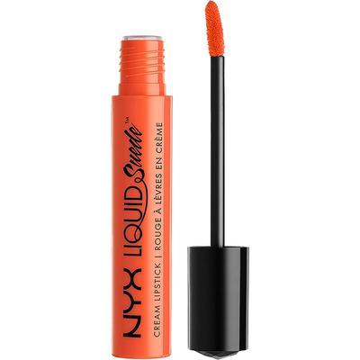 NYX Liquid Suede Cream Lipstick (Orange County)