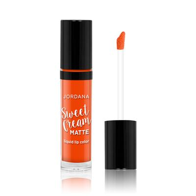 Jordana Sweet Cream Matte Liquid Lipstick (Mango Sorbet)
