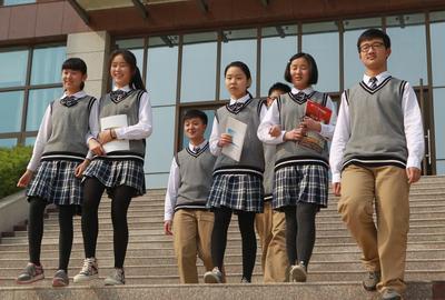 Seragam Sekolah di China