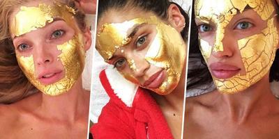 Masker Emas untuk Mendapatkan Wajah Glowing ala Model Victoria Secret