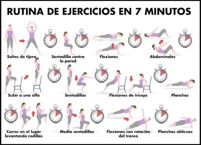 5. 7 Minute Workout