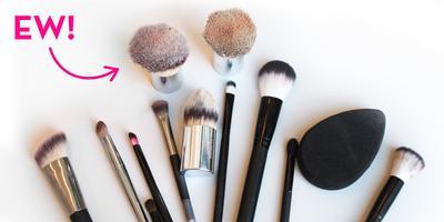 Urutan Cara Membersihkan Brush Make-Up Hingga Bersih Maksimal