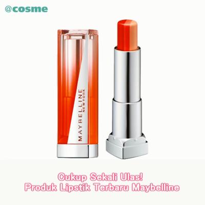 Cukup Sekali Ulas! Produk Lipstik Terbaru Maybelline