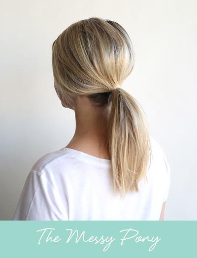 3 Hair Style Paling Gampang untuk Membuat Kuncir Kuda