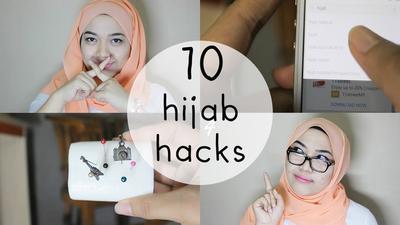 10 Hijab Hacks untuk Ritual Menggunakan Hijab yang Lebih Mudah & Cepat!