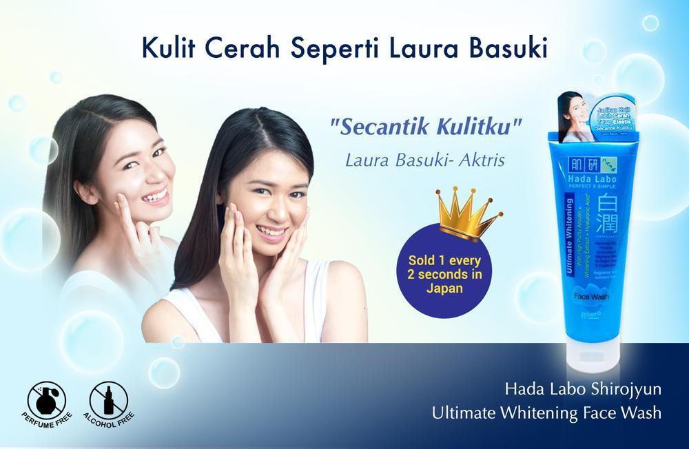 [HARGA SPESIAL] Beli Hada Labo Shirojyun Ultimate Whitening Face Wash di Beautynesia Store!