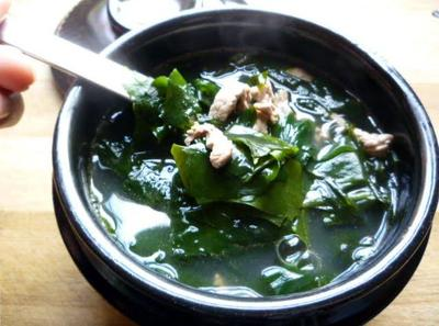Miyeok Guk / Sup rumput Laut
