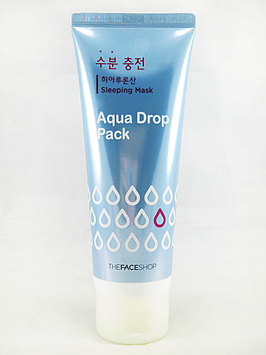 Aqua Drop Sleeping Pack dari The Face Shop