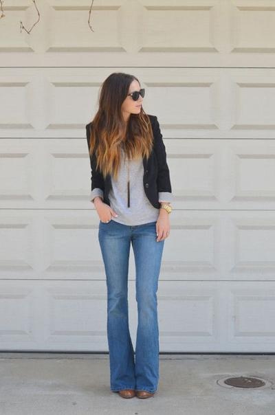 Try Flare Pants, But Just at the Right Length