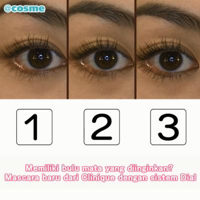 Memiliki bulu mata yang diinginkan? Mascara baru dari Clinique dengan sistem Dial