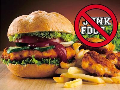 Tinggalkan Junk Food