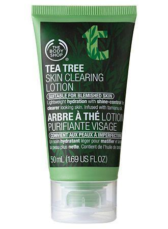 1.The Body Shop Tea Tree Skin Clearing Lotion