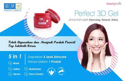 [Lebih Murah Dari Drugstore] Beli Hada Labo Perfect 3D Gel Hanya di Beautynesia Store!
