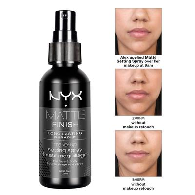 Matte Finish Makeup Setting Spray dari NYX Cosmetics