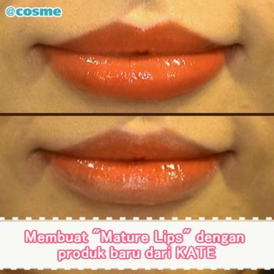 """Membuat """"Mature Lips"""" dengan produk baru dari KATE"""