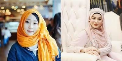 Dua Selebgram Asli Korea Ini Makin Cantik Saat Berhijab! Yuk, Intip Gaya Mereka!
