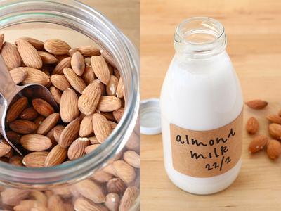 Yuk Coba Buat Almond Milk yang Sedang Populer Ini! Rendah Kalori, Sehat, dan Nikmat!