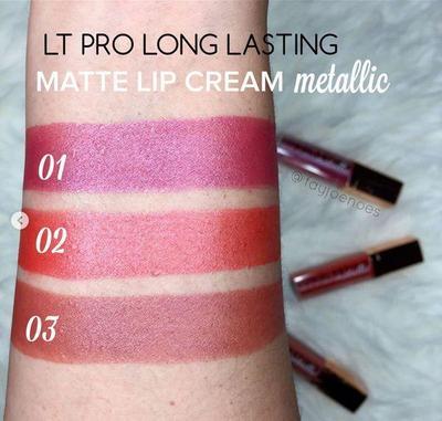 Rekomendasi Lip Matte Cream Lokal Shade Metalik Untuk Tampilan Bibir Trendi