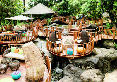 5. Jimbaran Outdoor Lounge