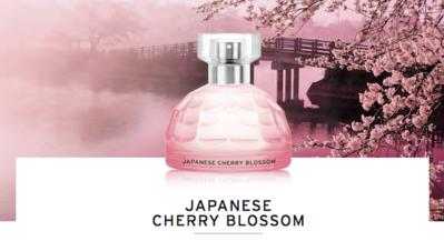 1. The Body Shop Japanese Cherry Blossom