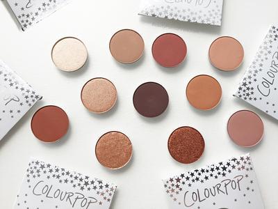 New Makeup Alert! Eyeshadow Palet Terbaru dari ColourPop dengan Pigmentasi Warna yang Bagus!