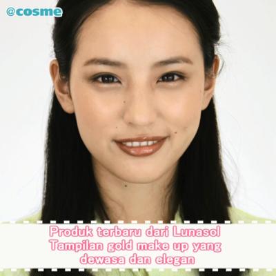 Produk terbaru dari Lunasol Tampilan gold make up yang dewasa dan elegan