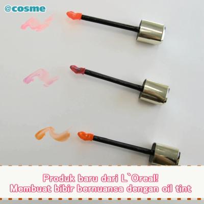 Produk baru dari L`Oreal! Membuat bibir bernuansa dengan oil tint