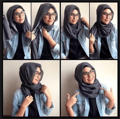 Pakailah Model Hijab yang Agak Longgar