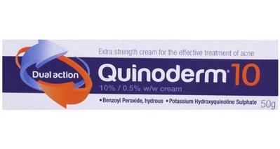 1. Quinoderm Cream 10%