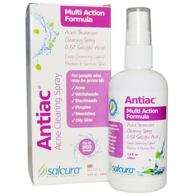 2. Salcura Antiac Acne Clearing Spray