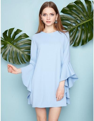 Model Baju Bell Sleeve