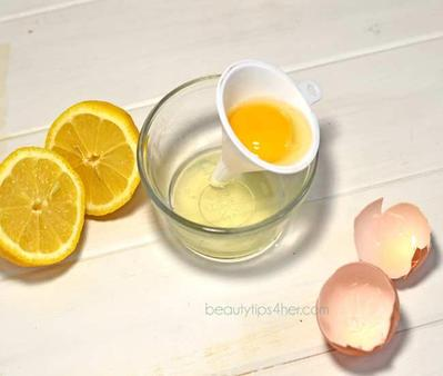 Putih Telur & Jeruk Lemon