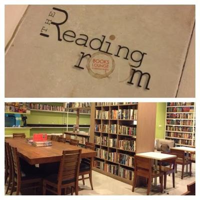 Bisa Makan Sekaligus Membaca di Reading Room