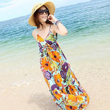 Cantik dalam Balutan Maxi Dress