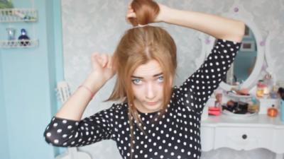 Buat Bun Pada Ikatan Rambut