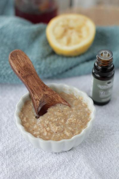 Masker Lemon & Oatmeal