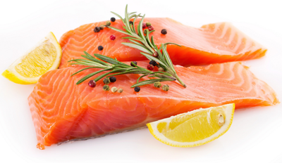 6) Ikan salmon