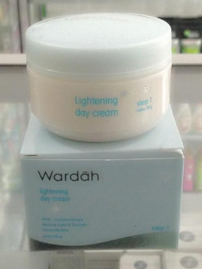 Wardah Lightening Day Cream Step 1 & Step 2