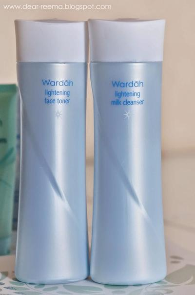 Wardah Lightening Milk Cleanser & Wardah Lightening Face Toner