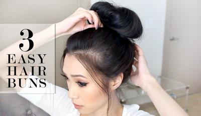 Bikin Gaya Rambut Bun Hair Hanya dengan 3 Langkah? Cek di Sini!