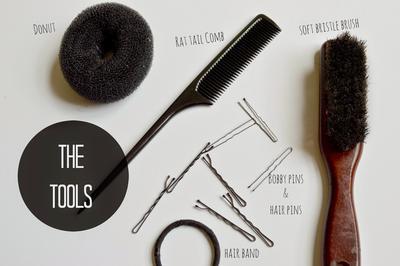 Peralatan yang Diperlukan Untuk Membuat Bun Hair
